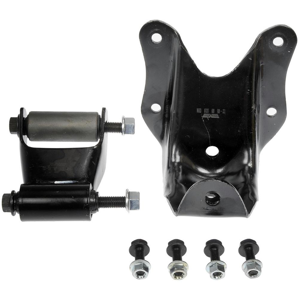 Oe Solutions Rear Position Leaf Spring Shackle And Bracket