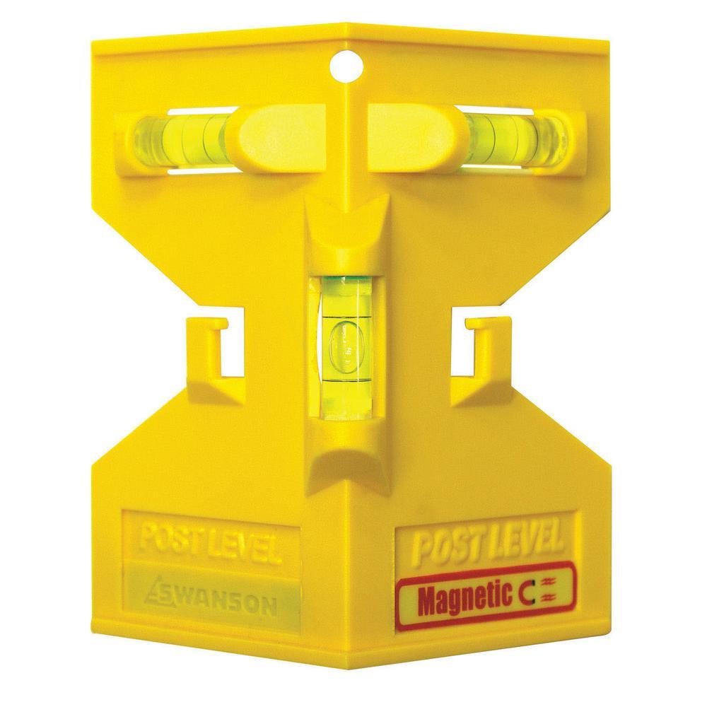 Swanson 5 In. Speedlite Magnetic Post Level-PL001M
