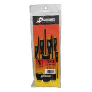 Standard Ball End Hex Drive Screwdriver Set with ProGuard Finish (8-Piece)