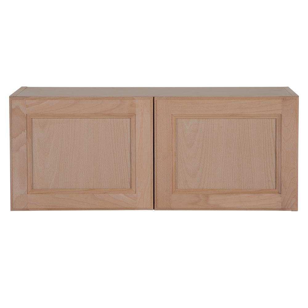 Hampton Bay Assembled 30x12x12 In. Easthaven Wall Cabinet