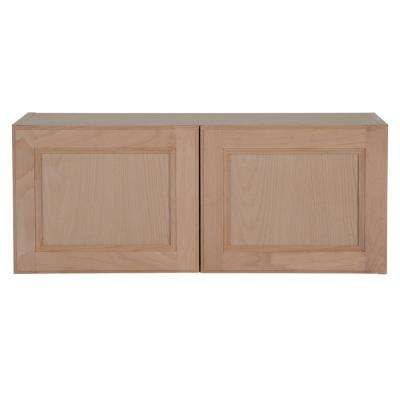 Embled 30x12x12 In Easthaven Wall Cabinet Unfinished German Beech