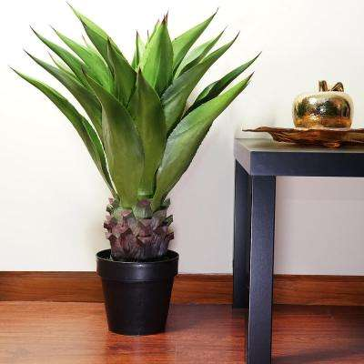 30.5 in. Artificial Americana Succulent Plant in Pot