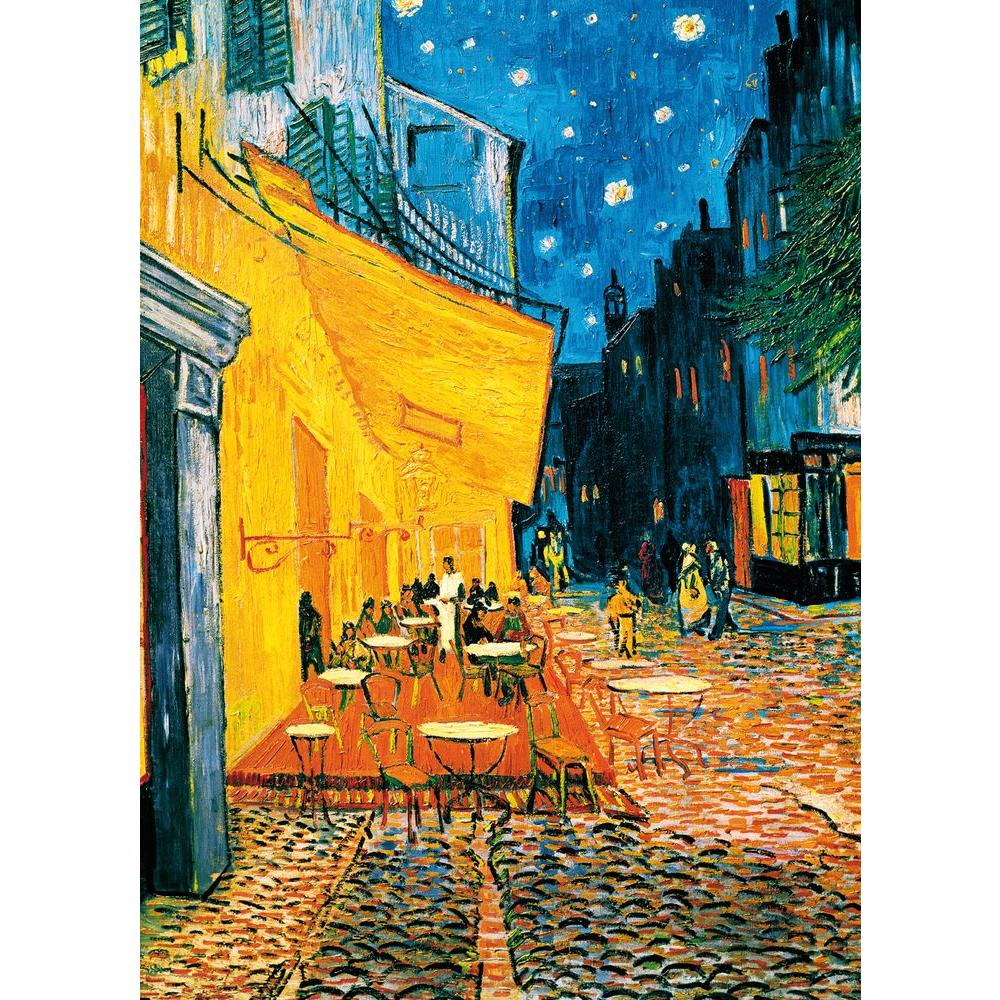 100 in. x 0.25 in. Terrasse De Cafe La Nuit Wall
