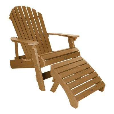 King Hamilton Toffee 2-Piece Recycled Plastic Outdoor Seating Set