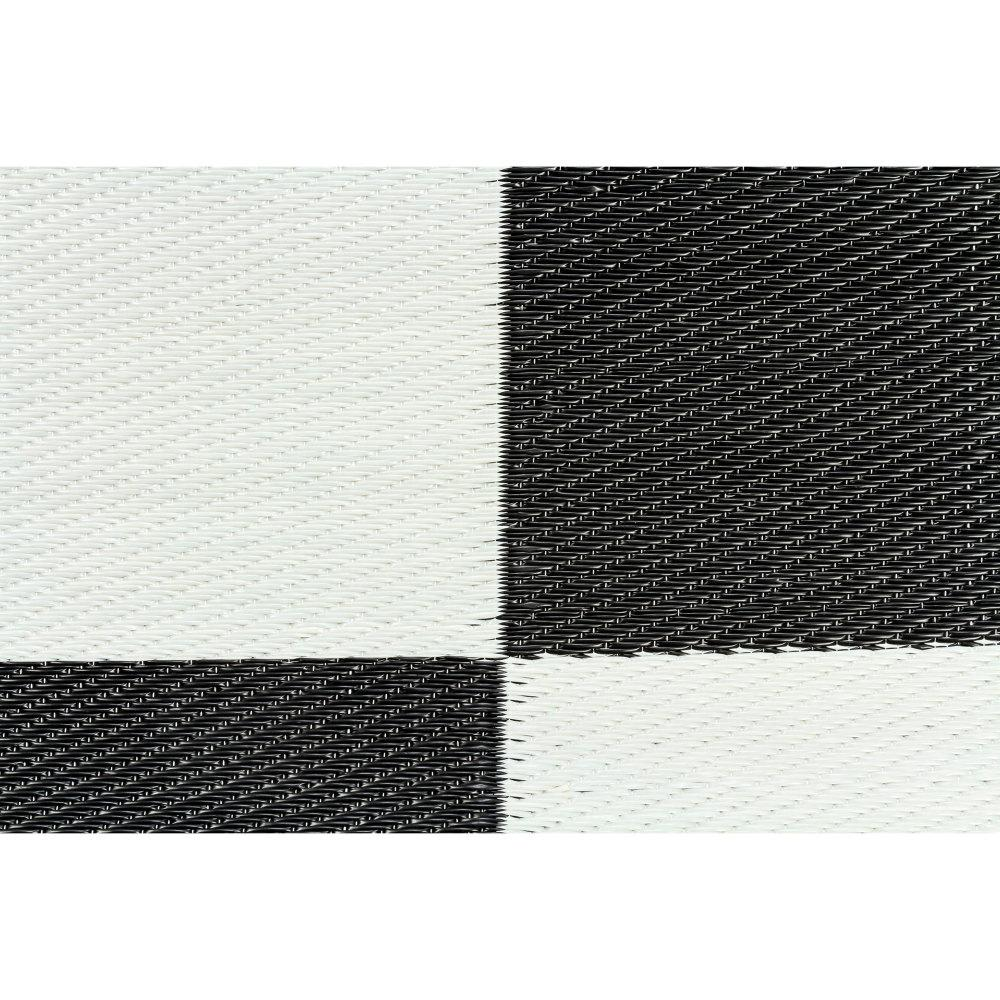 Camco Reversible Checkered Outdoor Mat 9 X 12 42827 The Home Depot