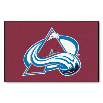Colorado Avalanche 2 ft. x 3 ft. Area Rug