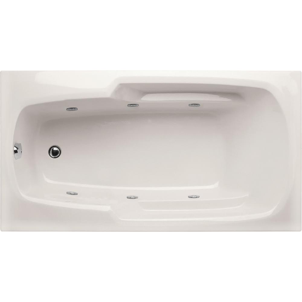 Hydro Systems Napa 54 in. Acrylic Rectangular Drop-in Reversible ...
