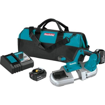 18-Volt LXT Lithium-Ion Cordless Compact Band Saw Kit 5.0 Ah