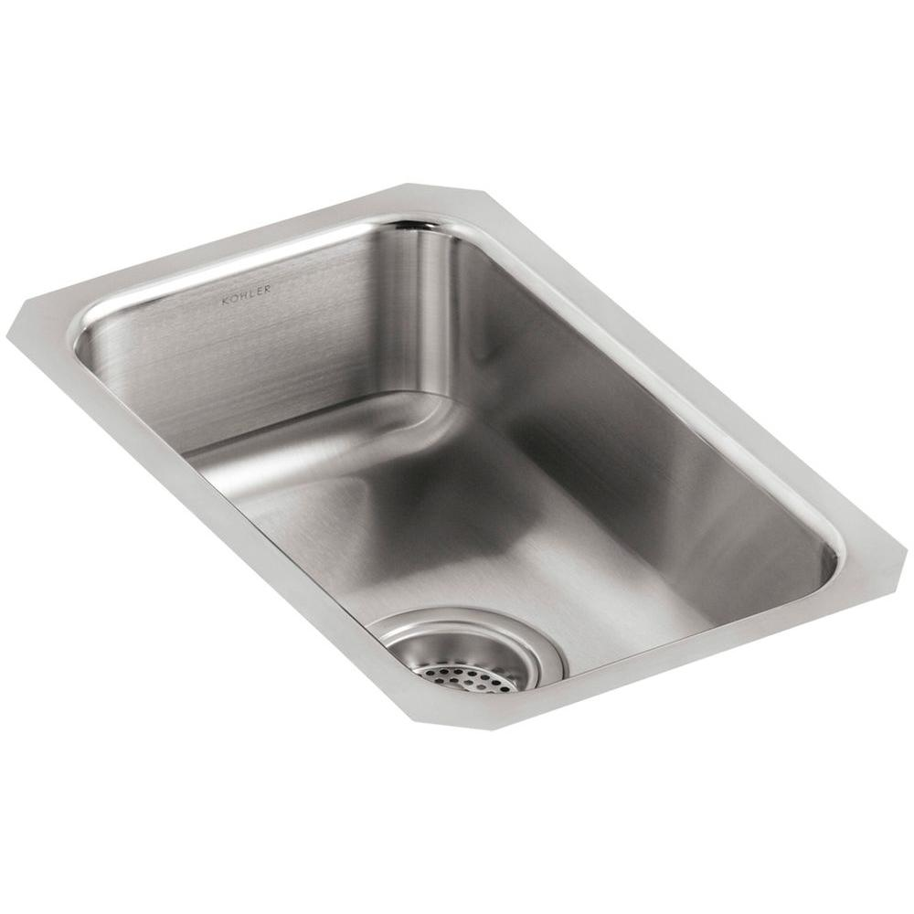 Kohler Undertone Undermount Stainless Steel 11 In Single Basin Kitchen Sink