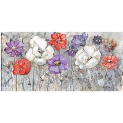 Floral Colors, Fresh Printed Canvas Wall Art Decor Gallery Wrapped Wall Art