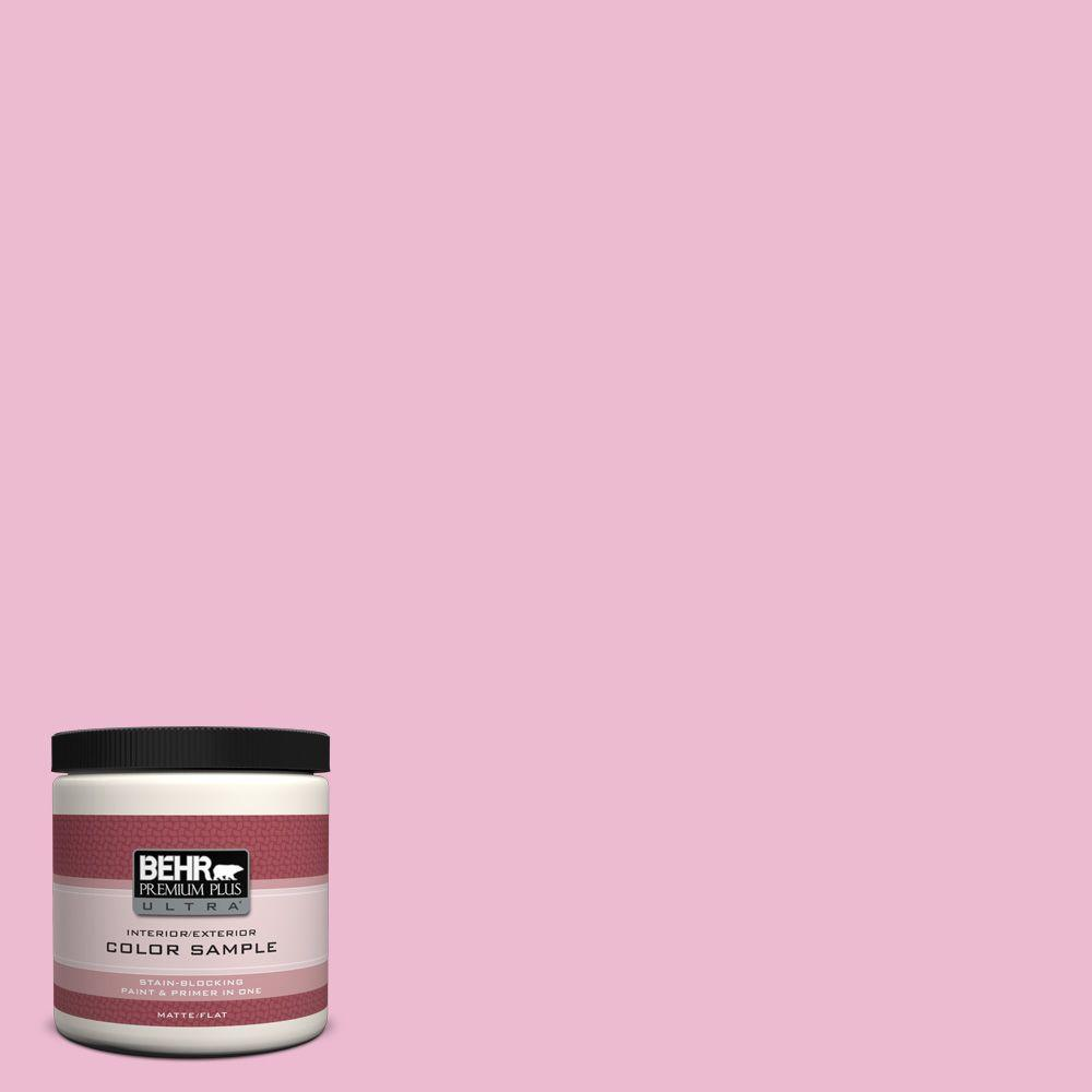 8 oz. #P130-2 Pink Innocence Interior/Exterior Paint Sample