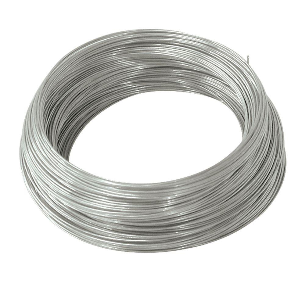 Ook 250 ft x 24 gauge galvanized steel wire 50137 the home depot ook 250 ft x 24 gauge galvanized steel wire greentooth