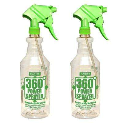 32 oz. 360-Degree All Angle Professional Spray Bottle (2-Pack)
