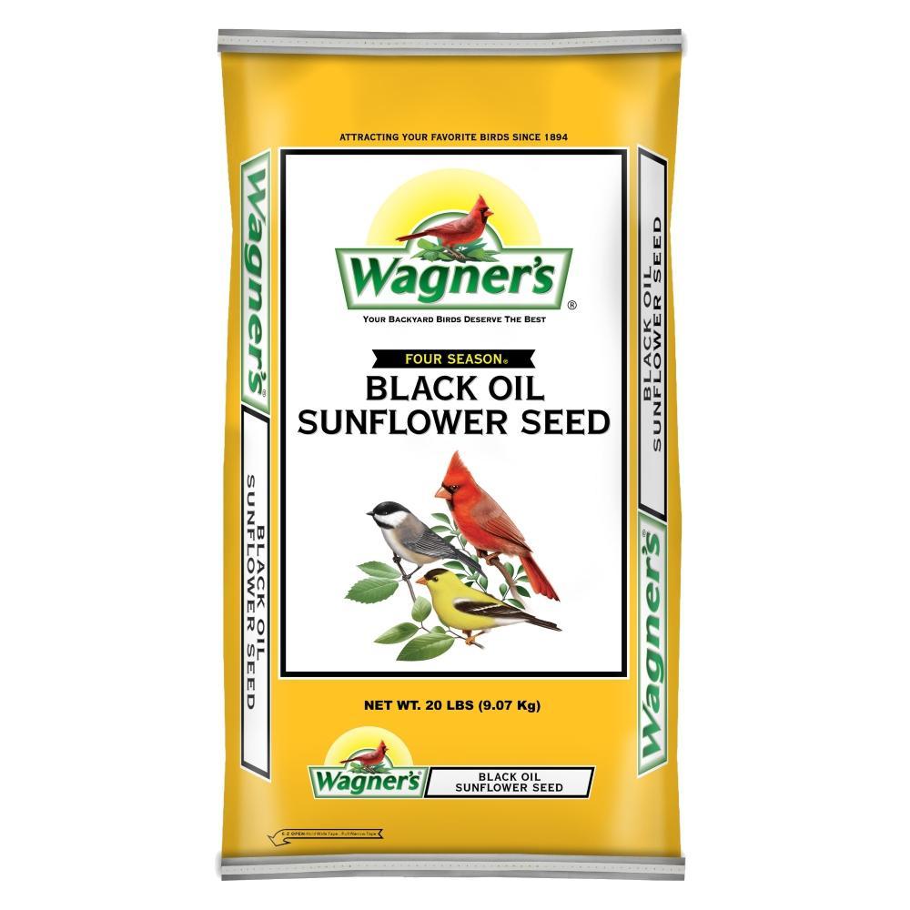 Wagner's Four Season 20 lb. Black Oil Sunflower Seed