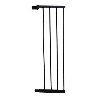 36 in. H x 11 in. W x 1 in. D Extension Extra Tall Premium Pressure Gate Black