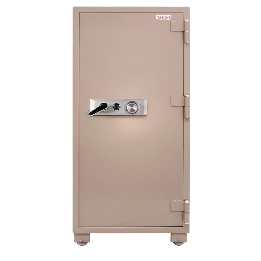 MESA 13.3 cu. ft. Fire Resistant Combination Lock 2 Hour Fire Safe