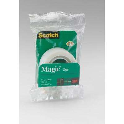 Scotch 3/4 in. x 13.8 yds. Magic Tape (Case of 72)