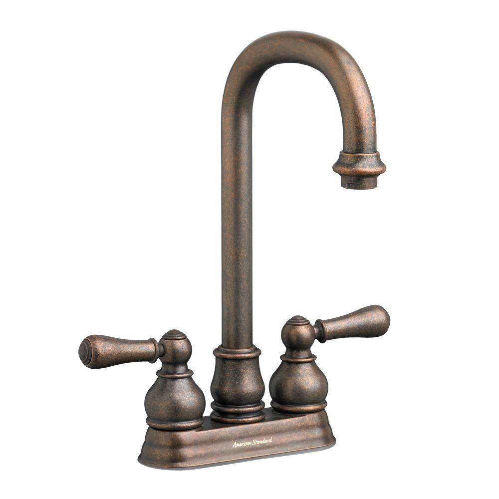 Hampton 2-Handle Bar Faucet in Oil Rubbed Bronze