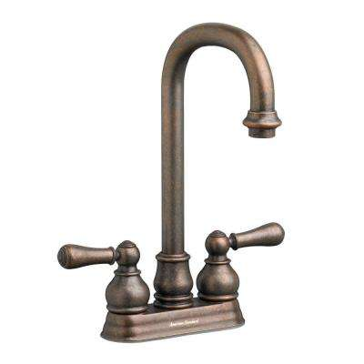 Hampton 2-Handle Bar Faucet in Oil Rubbed Bronze