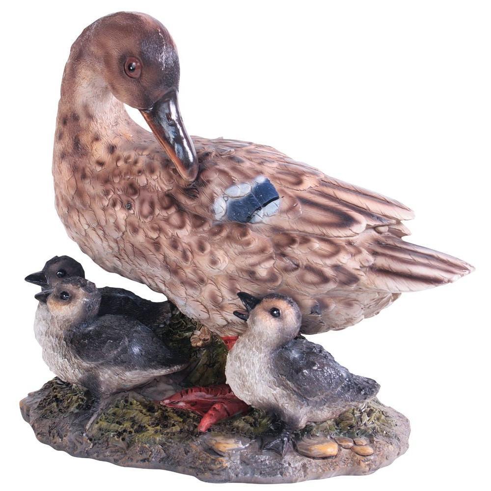 Kelkay Duck and Ducklings Statue