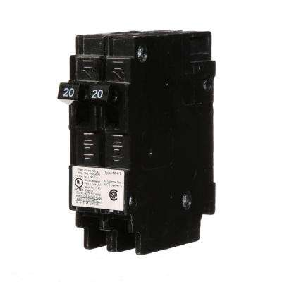 20 Amp Single-Pole Type MH-T Tandem NCL Circuit Breaker