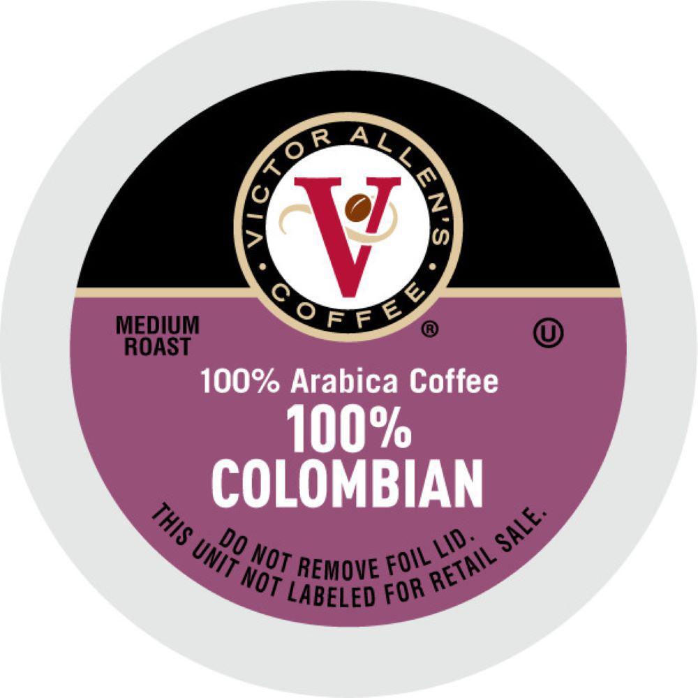 100% Colombian Coffee (42 Single Serve Cups per Case)
