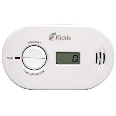 Battery Operated Carbon Monoxide Detector with Digital Display