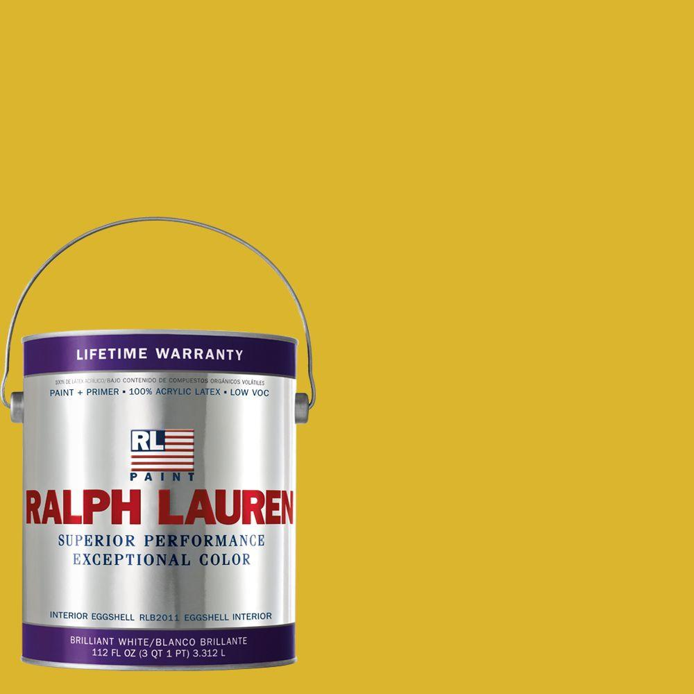 Ralph Lauren 1-gal. Cut Citrine Eggshell Interior Paint