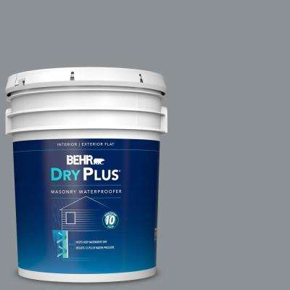 5 gal. #770F-4 Gray Area Dry Plus Masonry Waterproofer
