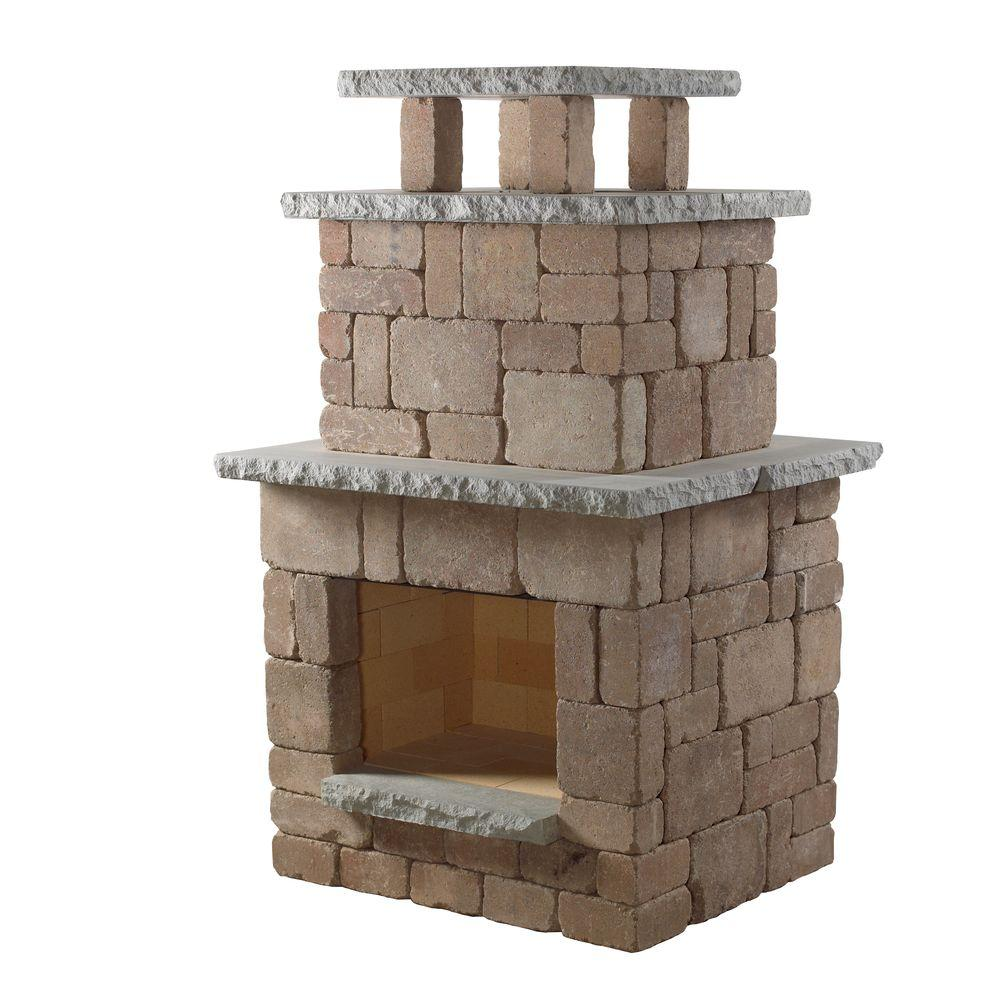 Necessories Desert Compact Outdoor Fireplace 4200039 The Home Depot