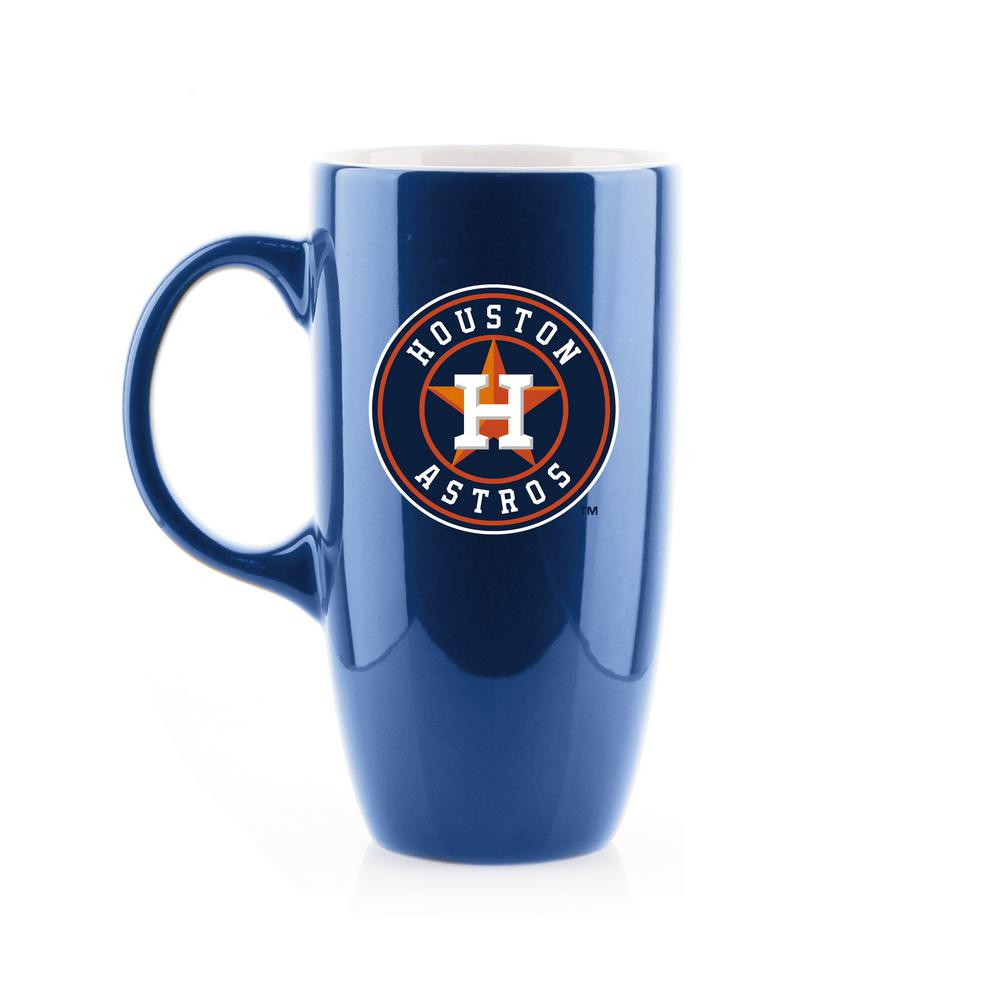 Reviews For Duckhouse Sports 20 Oz Houston Astros Tall Bone China Coffee Mug Lcet520 The Home Depot