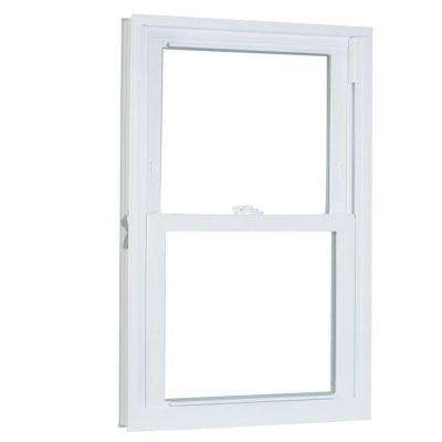 23.75 in. x 53.25 in. 70 Series Pro Double Hung White Vinyl Window with Buck Frame