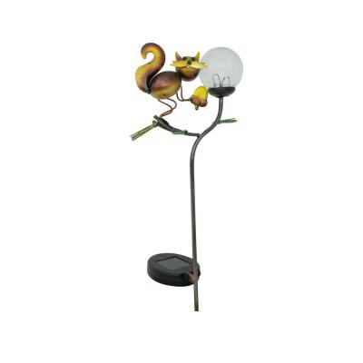 Squirrel Solar Stake Light