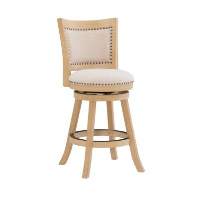 Tucker Gray 24 in. Counter Stool