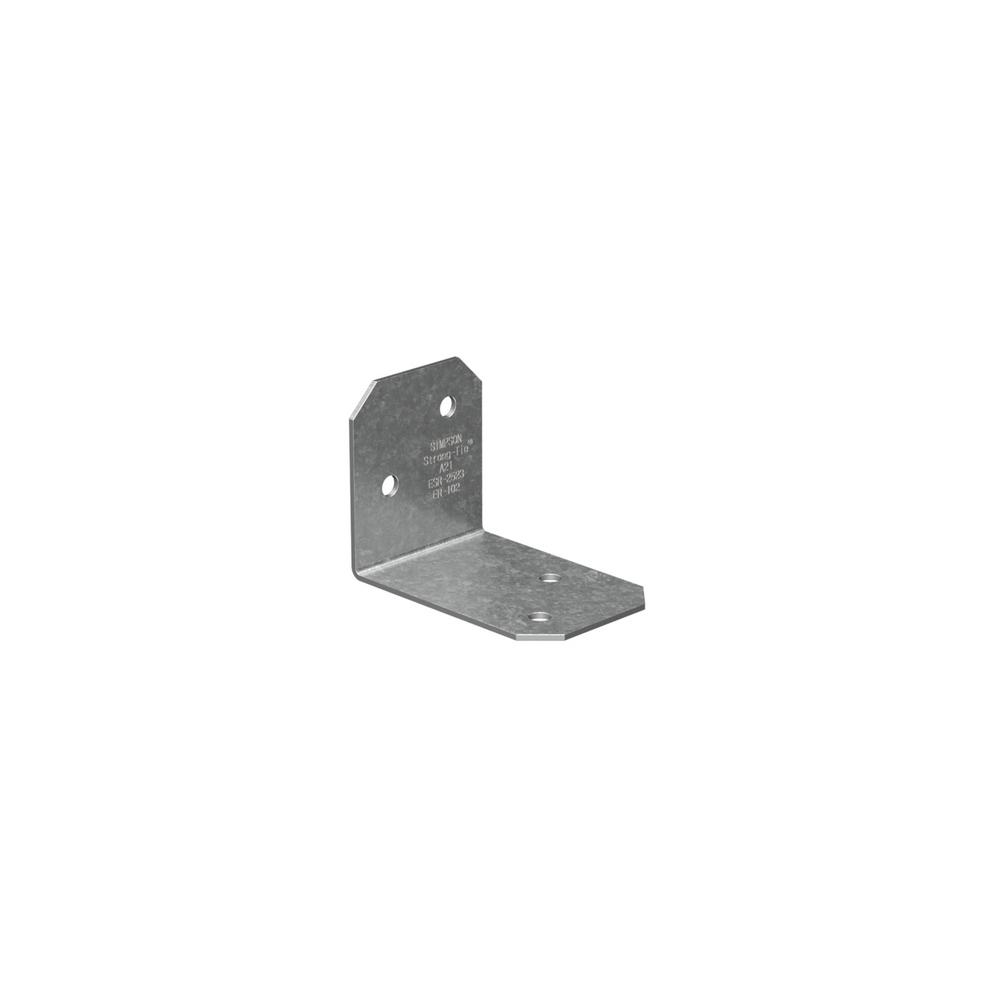 Simpson Strong-Tie 2 in. x 1-1/2 in. x 1-3/8 in. Galvanized Angle