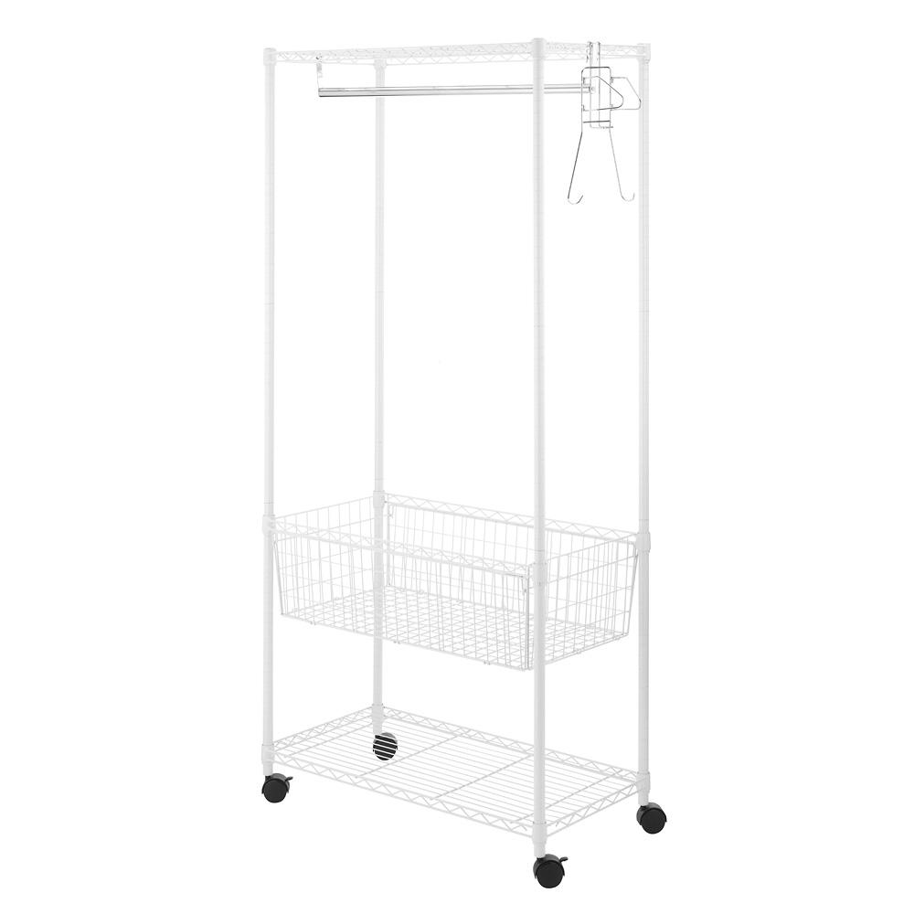 Whitmor Supreme Portable Laundry Center, White was $86.21 now $47.42 (45.0% off)