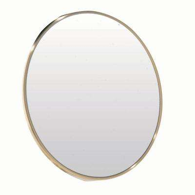 Catherine 8.96 in. x 8.96 in. Portable Magnifying Framed Mirror