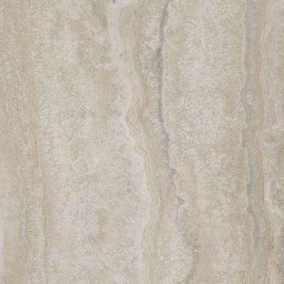 Allure 12 in. x 24 in. Grey Travertine Luxury Vinyl Tile Flooring (24 sq. ft. / case)