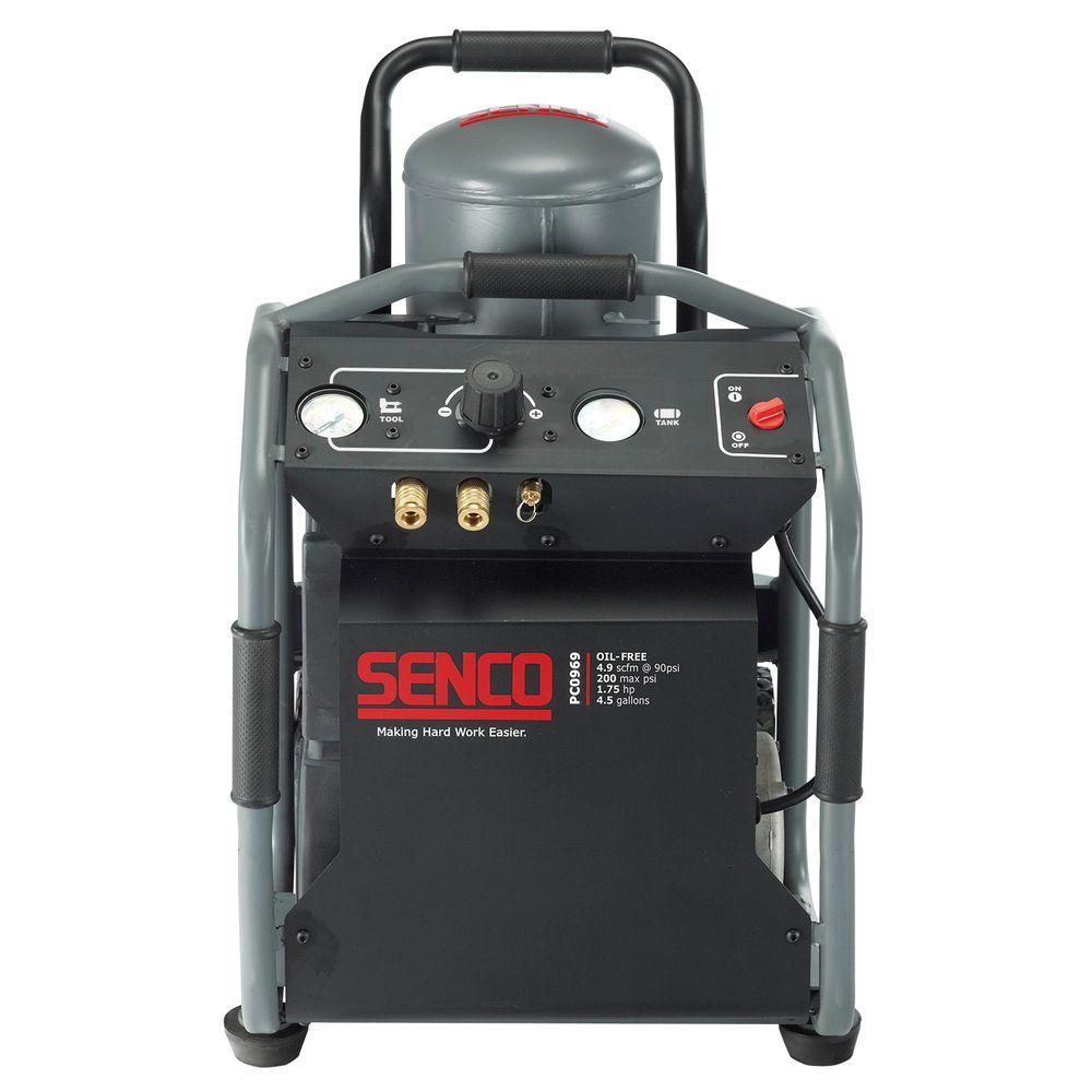 Senco 4.5 Gal. 1-3/4 HP Roll Away Electric Air Compressor by Senco