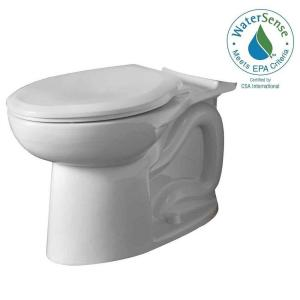 American Standard Cadet 3 FloWise Tall Height Elongated Toilet Bowl Only in White by American Standard