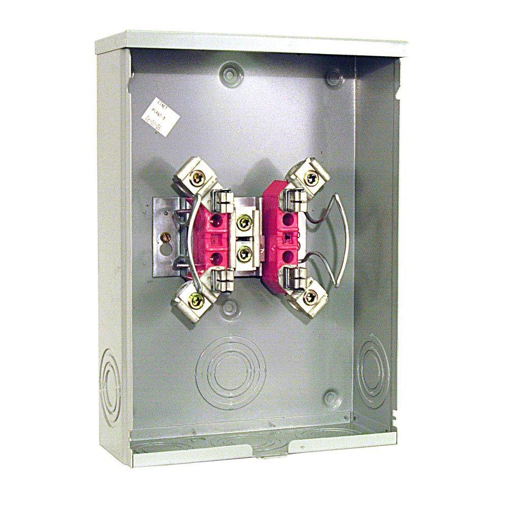 200 Amp 4 Terminal Ringless Overhead/Underground Meter Socket