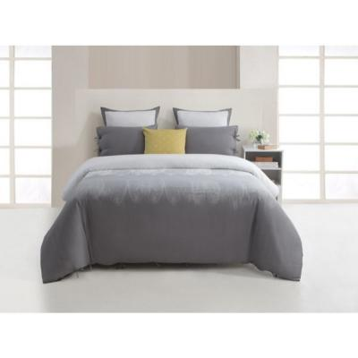 Ingrid 300-Thread Count Full/Queen Warm Grey Duvet Set