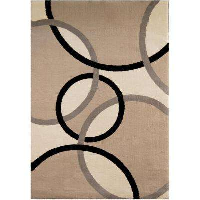 Justin Flax 6 ft. 7 in. x 10 ft. Indoor Area Rug