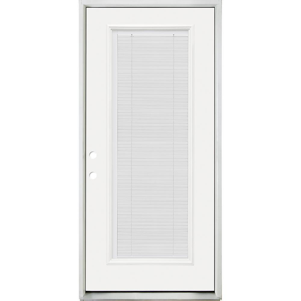 32 X 80 Right Hand Inswing Front Doors Exterior Doors The Home Depot