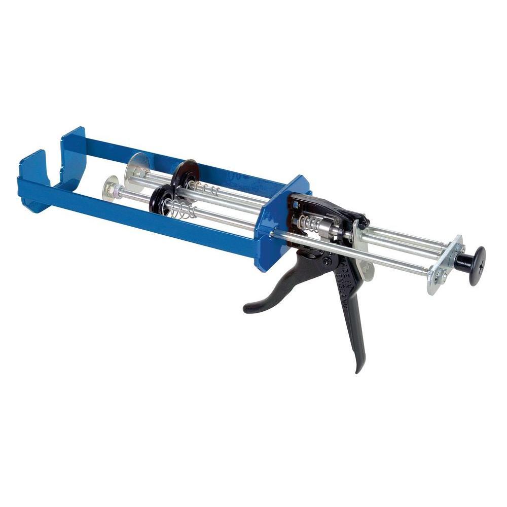 COX 300 ml x 150 ml/300 ml x 300 ml Dual Cartridge Low Viscosity Epoxy Applicator Gun