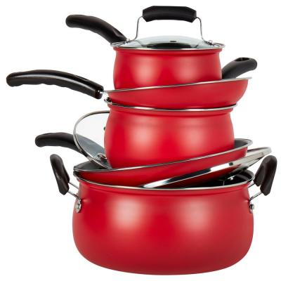 Basic Essentials Cookware Sets Cookware The Home Depot