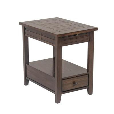 Crestline Cherry Chairside End Table