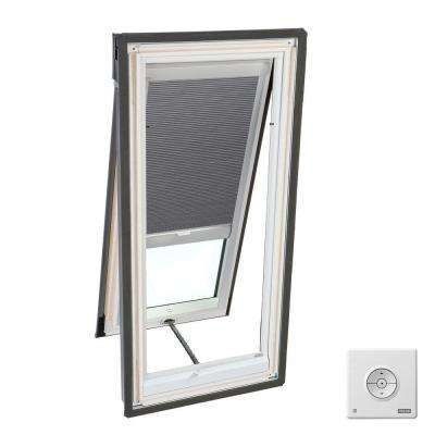 Solar Powered Room Darkening Grey Skylight Blinds for VS S06, VSS S06 and VSE S06 Models