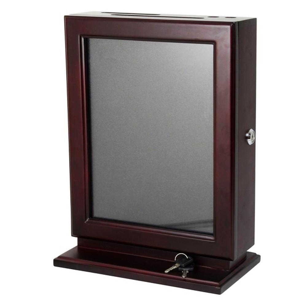 Wood Suggestion Box, Mahogany
