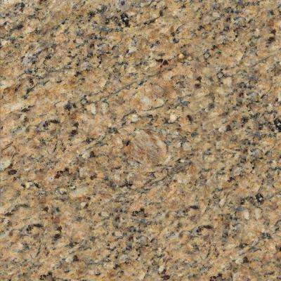 4 in. x 4 in. Natural Granite Vanity Top Sample in New Venetian Gold